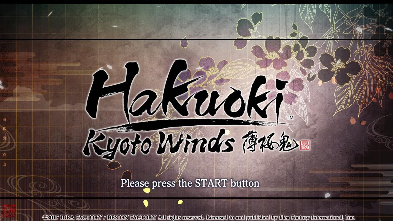 hakuoki: kyoto winds
