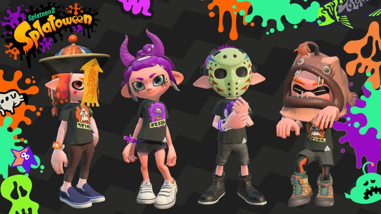 Splatoon Diaries: Splatoween & Version 4.1.0